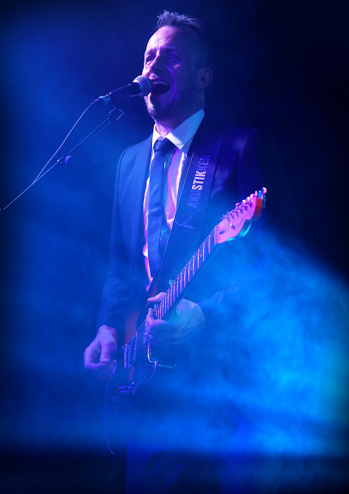 Steffen Addington, guitar